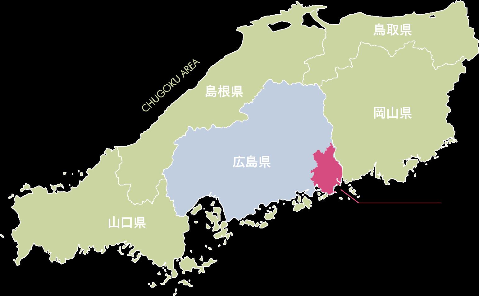 福山市マップ