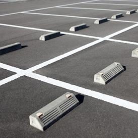 職員用駐車場
